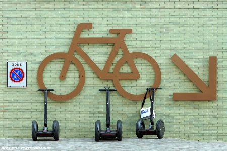 SEGWAY PARKING ONLY