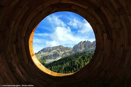 Eye to the Dolomites
